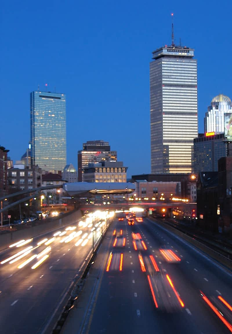 Boston skyline - credit: Mathew Murphy